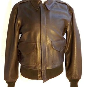 COOPER A-2  US AIR FORCE LEATHER FLIGHT JACKET